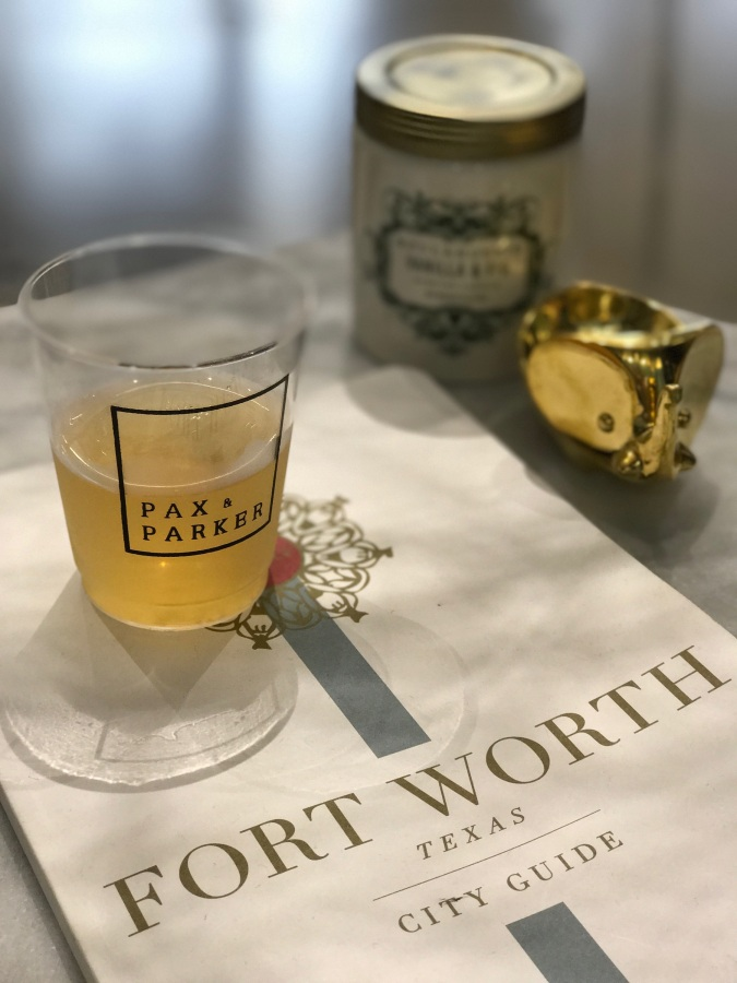 Sippin' & Shopping in Fort Worth – Pax & Parker